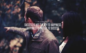 success-not-happiness
